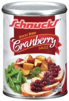 Schnucks Whole Berry Cranberry Sauce