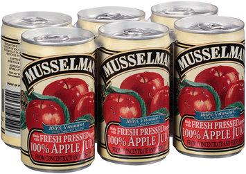 Musselman's® 100% Apple Juice 6-5.5 fl. oz. Can