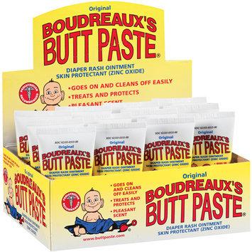 Boudreaux's Butt Paste® Original 1 Oz Tube Diaper Rash Ointment 12 Ct Tray