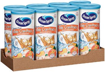 Ocean Spray White Cran-Peach Sugar Free Drink Mix 8 Pk Tray