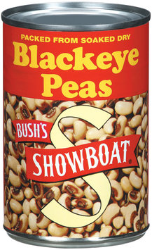 Showboat Packed from Soaked Dry Blackeye Peas 15.8 Oz Can