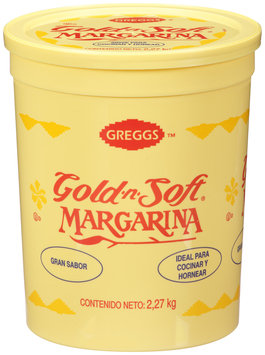 Greggs™ Gold-n-Soft® Margarine 5 lb. Tub