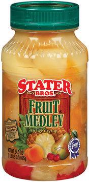 Stater Bros. In Light Syrup Fruit Medley 24.5 Oz Plastic Jar