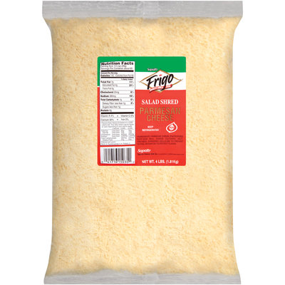 Frigo® Parmesan Salad Shred Cheese 4 Lb Bag
