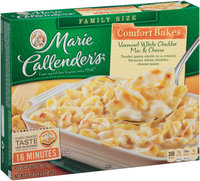 Marie Callender's® Comfort Bakes Vermont White Cheddar Mac & Cheese 24 oz. Box