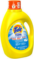 Tide Simply Clean & Fresh HE Liquid Laundry Detergent, Refreshing Breeze Scent, 80 Loads 125 Fl Oz