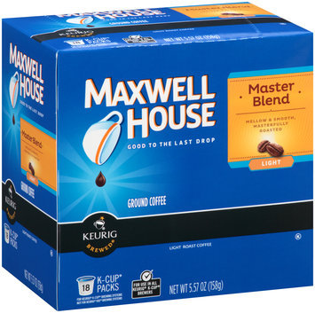 Maxwell House Master Blend Coffee K-Cup® Packs 18 ct Box