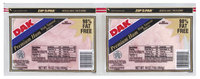 Dak Premium 98% Fat Free 16 Oz Sliced Ham 2 Pk Zip Pak