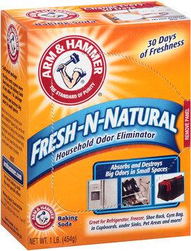 Arm & Hammer® Fresh-N-Natural Household Odor Eliminator Baking Soda 1 lb. Box