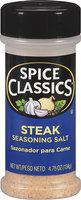 Spice Classics® Steak Seasoning Salt 4.75 oz. Shaker