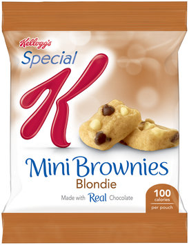 Kellogg's® Special K® Blondie Mini Brownies 0.74 oz. Pouch