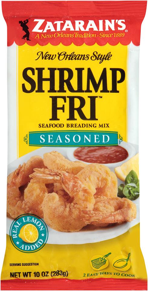 Zatarain's® Shrimp-Fri™ Seasoned Seafood Breading Mix 10 oz. Bag