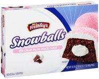 Mrs. Freshley's® Snowballs 6-2.1 oz. Packs