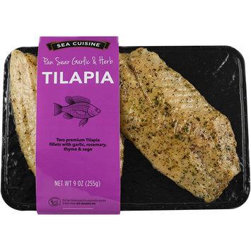 Sea Cuisine® Pan Sear Garlic & Herb Tilapia 9 oz. Pack