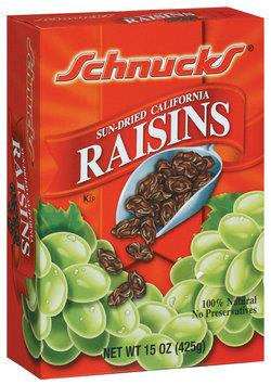 Schnucks Sun-Dried California Raisins