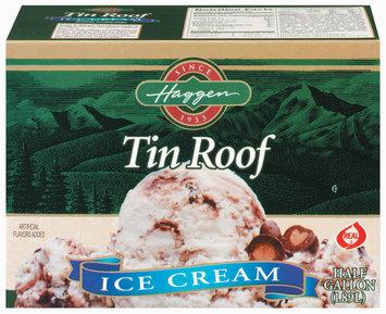 Haggen Tin Roof Ice Cream .5 Gal Carton