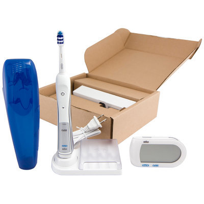 Oral-B Professional Deep Sweep™ plus Smart Guide™ Triaction 5000™ Rechargeable Electric Toothbrush