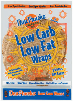 Don Pancho Low Carb Low Fat Whole Wheat