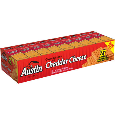 Austin® Cheese Crackers with Cheddar Cheese