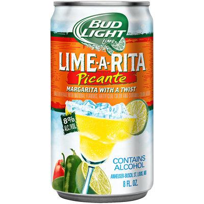 Bud Light Lime® PiCante Lime-A-Rita® Malt Beverage 8 fl. oz. Can