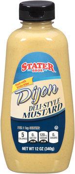 Stater Bros.® Dijon Deli-Style Mustard 12 oz. Squeeze Bottle