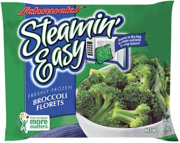 Schnucks Steamin' Easy Broccoli Florets 12 Oz Bag