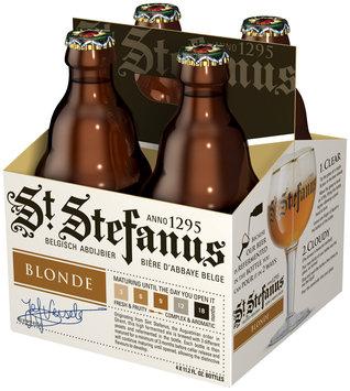 ST. STEFANUS Blonde 12 oz  4 PK