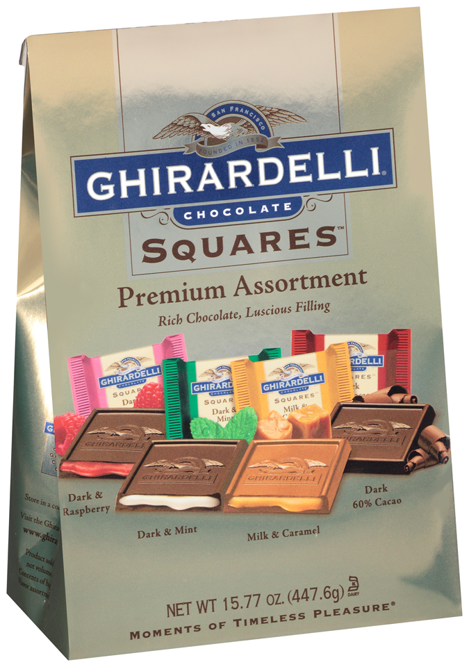 Ghirardelli® Premium Assortment Chocolate Squares™ 15.77 oz. Bag
