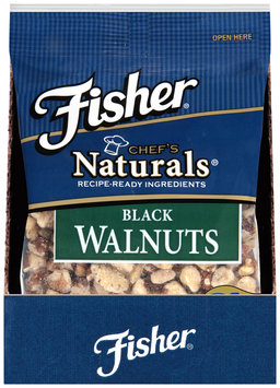 Fisher® Chef's Naturals® Black Walnuts 2 oz. Bag