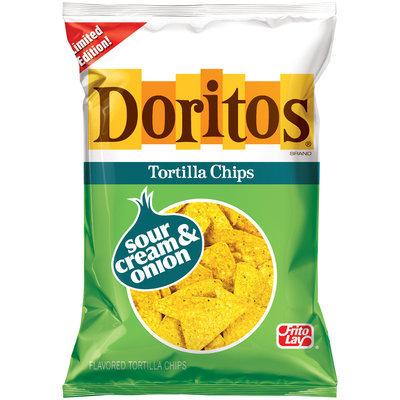 Doritos Sour Cream & Onion Tortilla Chips