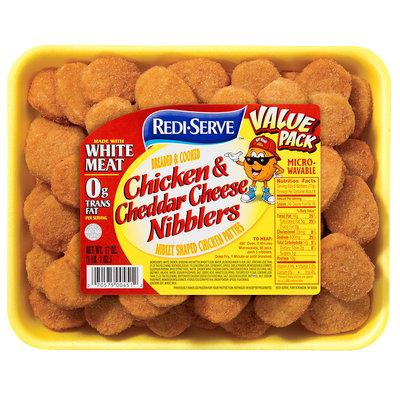 Redi-Serve Chicken & Cheddar Cheese Nibblers 17 oz. Tray