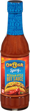 Ortega® Spicy Mexican Style Hot Sauce 6 fl. oz. Bottle