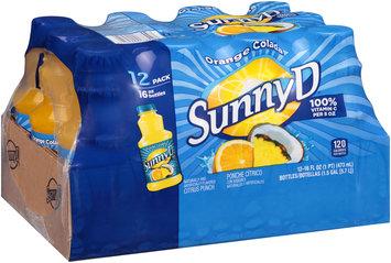 SunnyD® Orange Colada Citrus Punch 12-16 fl. oz. Bottles