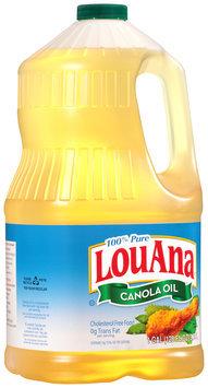 Lou Ana® 100% Pure Canola Oil 128 fl oz. Jug