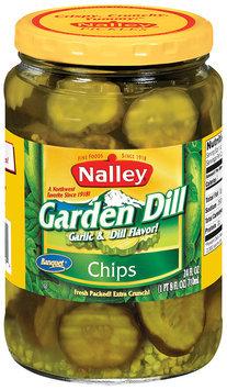Nalley® Garden Dill Chips Pickles 24 fl. oz. Jar