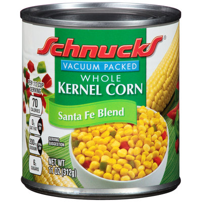 Schnucks® Santa Fe Blend Whole Kernel Corn 11 oz. Can