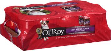 Ol' Roy™ Strip in Gravy Fillet Mignon Flavor Dog Food 12-13.2 oz. Cans