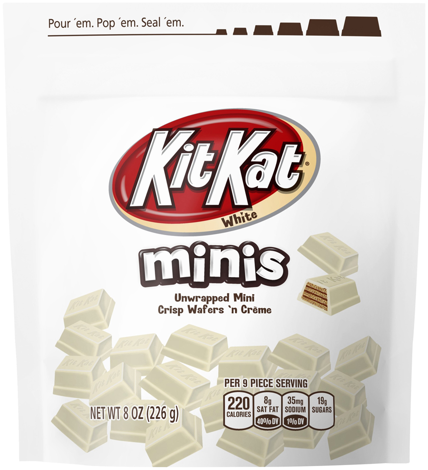 Kit Kat® Minis White Chocolate Candy 8 oz. Bag