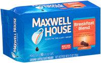 Maxwell House Breakfast Blend Ground Coffee 11 oz. Brick