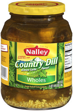 Nalley®Country Dill Wholes 46 fl oz Jar
