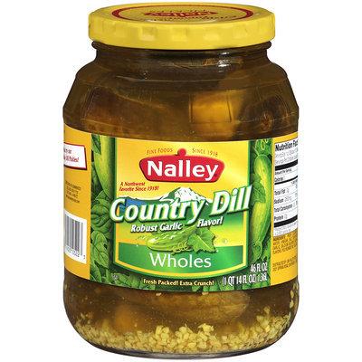 Nalley®Country Dill Wholes 46 fl oz Jar