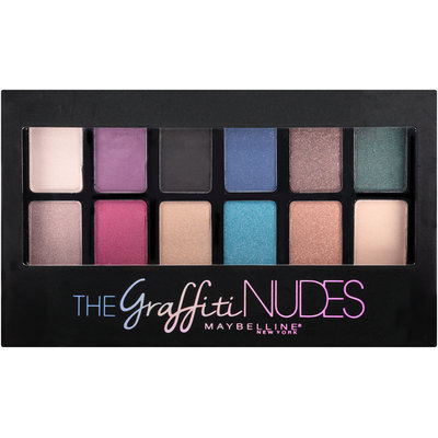 Maybelline® New York The Graffiti Nudes Eyeshadow Palette
