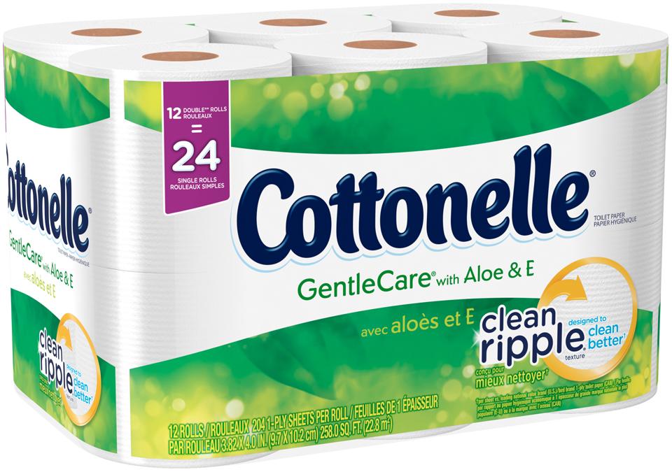 Cottonelle® GentleCare® Toilet Paper
