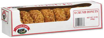 Cottage Hearth Crumb Donuts 8 Ct Box