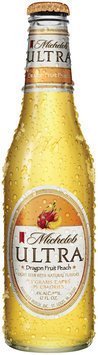 Michelob Ultra Flavors Dragon Fruit Peach Beer