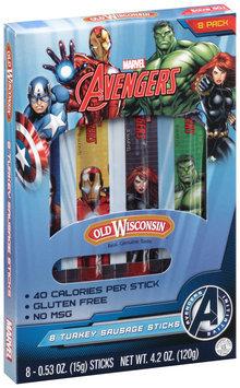 Old Wisconsin® Marvel Avengers 4.2 oz., 8-count Turkey Sausage Snack Sticks