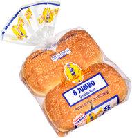 Evangeline Maid® Jumbo Enriched Buns 8 ct Bag