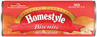 Springfield Homestyle 10 Ct Biscuits 7.5 Oz Cylinder