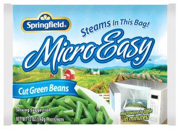 Springfield Cut Microeasy Green Beans 12 Oz Bag
