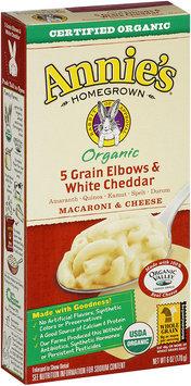 Annie's® Homegrown Organic Grain Elbows & White Cheddar Macaroni & Cheese